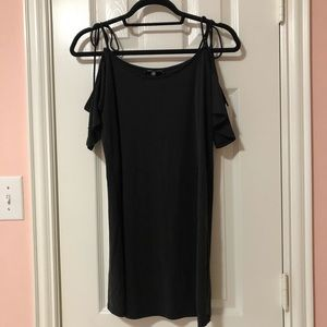 Kendall & Kylie Black Straight Dress